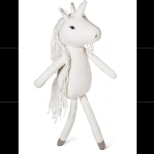 Other - Unicorn white stuffed animal